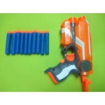 Pistolet NERF FIRESTRIKE ELITE plus 10 pocisków