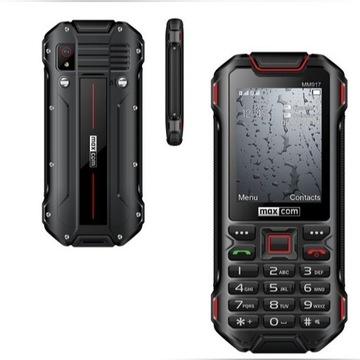 Maxcom MM917 STRONG DualSim Nowy,24 MSC Najtaniej!