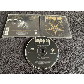 Pentagram - Day Of The Reckoning - Peaceville 1993