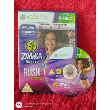 Kinect Zumba fitness Rush Xbox 360