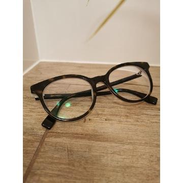 Okulary Fendi oryginalne korekcyjne brązowe czarne