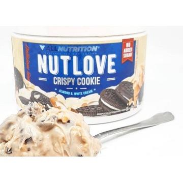 DWA opakowania kremu NUTLOVE (ciasteczko+orzech)