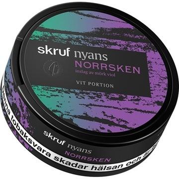 Skruf nyans norrsken pudelka do kolekcji od snus