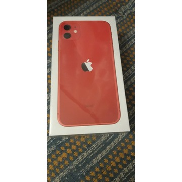 Smartfon iPhone 11 256gb Red