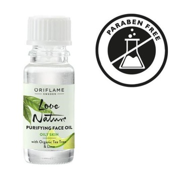 Oczyszczający olejek Tea Lime Love Nature ORIFLAME