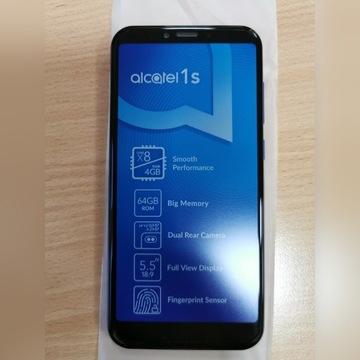 Nowy Smartfon Alcatel 1S 4/64GB DualSIM niebieski