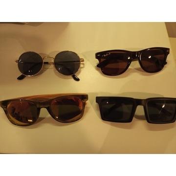 Zestaw okularów przeciwsłonecznych męskich