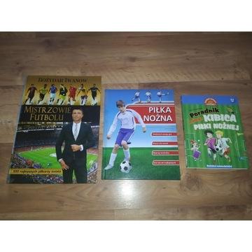 6 książek Mistrzowie Futbolu Piłki Nożnej Gwiazdy