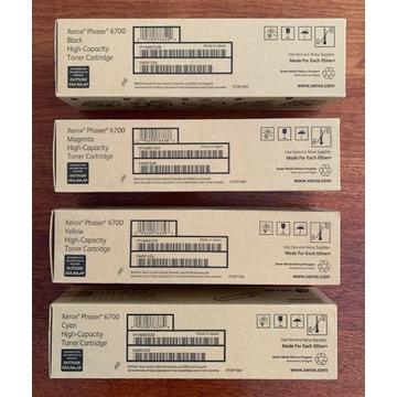 TONER XEROX PHASER 6700 zestaw 4 szt. 106R01526