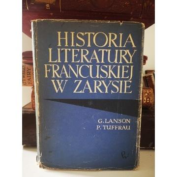 Książka Historia literatury francuskiej w zarysie