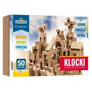 Kartonowe klocki konstrukcyjne CARDBLOCKS 50