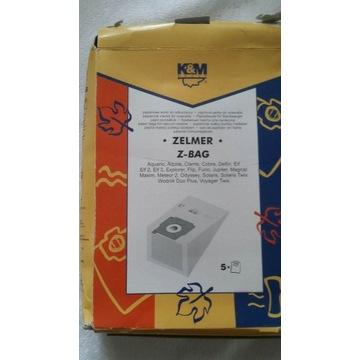 Worki do odkurzacza Zelmer K&M Z-BAG, 5 szt.