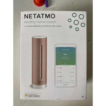 Netatmo Healthy Home Coach, miernik powietrza