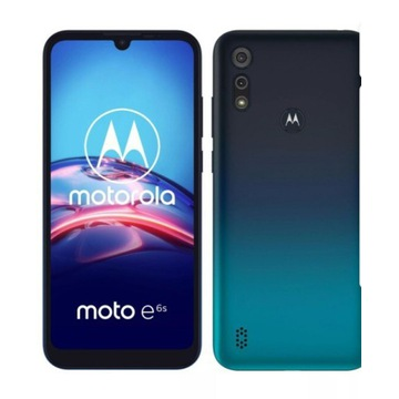 Motorola e6s pęknięty wyświetlacz 100% sprawny