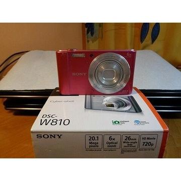 Sony DSC W810 aparat cyfrowy
