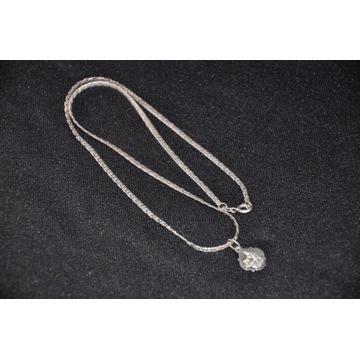 Łańcuszek srebrny naszyjnik 925.