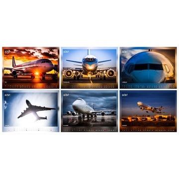 Kalendarz A3 Samoloty - 2021 - PHOTOMORGANA.PL