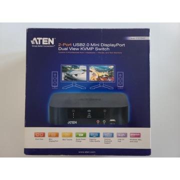 Aten CS1942 USB Dual View DisplayPort KVM Switch