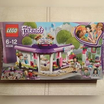 Zestaw 41336 LEGO Friends Artystyczna Kawiarnia