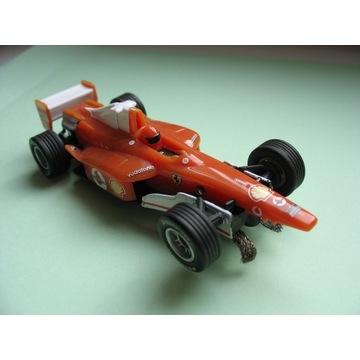 Auto Ferrari na baterie tor wyścigowy Formuła 1