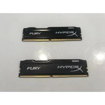 HyperX 8GB (2x4GB) 2400MHz Fury Black CL15