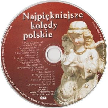 Najpiękniejsze kolędy polskie - płyta CD