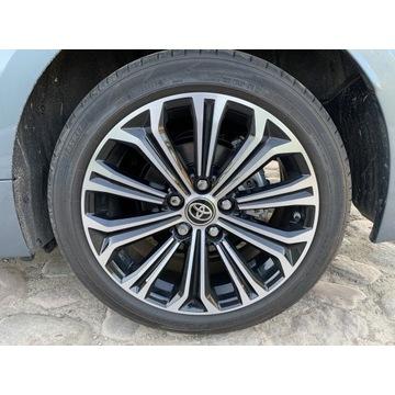 Opony letnie do Toyota Corolla 2020 rok