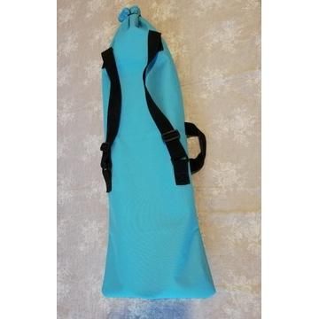 NOWY pokrowiec plecak na deskorolkę 80cm niebieski