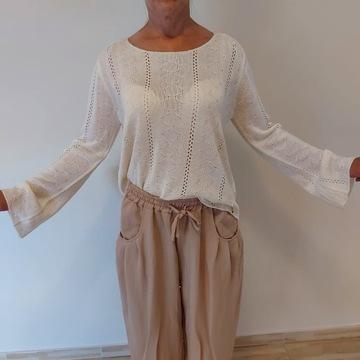 Sweter ażurowy włoski Camomilla