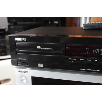 Philips CD 690 -legendarna marka z pilotem