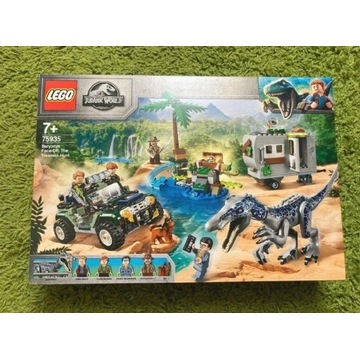 LEGO Jurassic World Starcie barionyksem 75935 P-ń