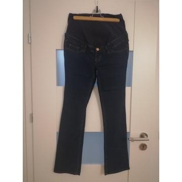 Spodnie jeans z pasem ciążowym H&M MAMA  r. 40