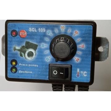 Regulator temperatury sterownik pompy CO SCL-109