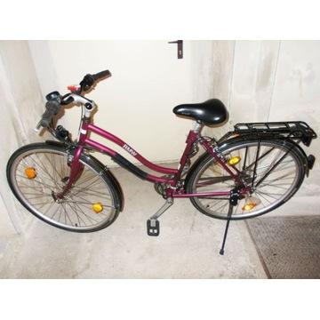 Składany rower damka BMW