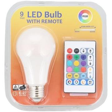 Wielokolorowa żarówka LED