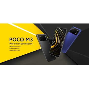 Smartfon POCO M3 4/64GB Power Black