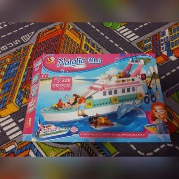 Klocki Natalia Club , Jacht