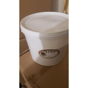 Miód Pszczeli  Lipowy  wiadra 3 kg