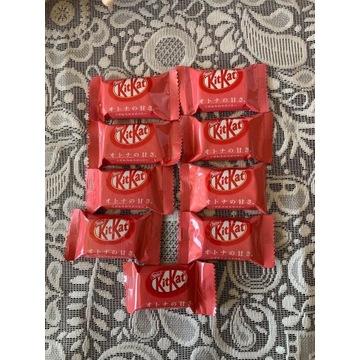 KitKat mini truskawka  baton Japonia Japan