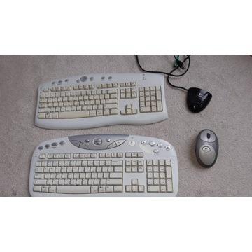 Zestaw bezprzewodowy Logitech klawiatury i myszka