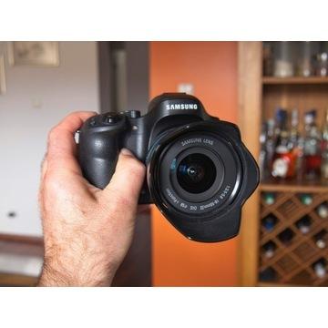 Samsung NX30 z obiektywem 18-55mm f3.5-5.6