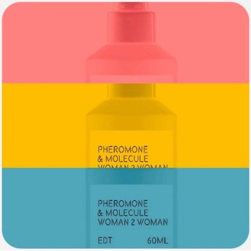 Pheromone & Molecule Ambrox Woman 2 Woman EDT 60