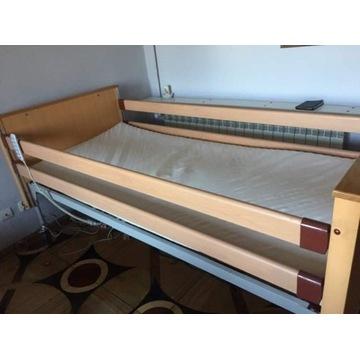 Łóżko rehabilitacyjne elektryczne - z pilotem