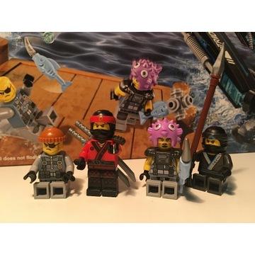 Klocki LEGO Ninjago Movie Nartnik 70611