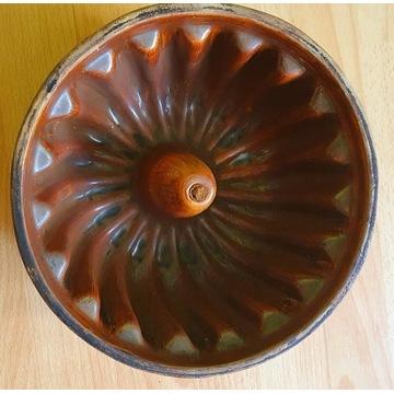 Forma do pieczenia ciasta babki kamionka 26 cm