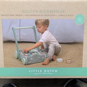 Wózek z klockami Little Dutch