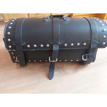 Kufer skórzany