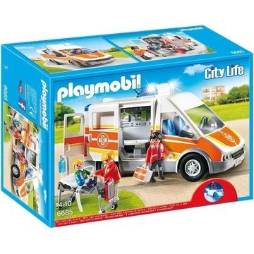 Playmobil City Life 6685 Karetka KLEKS Warszawa