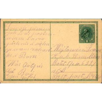 1916? - kamuflażowy stempel okręgowy