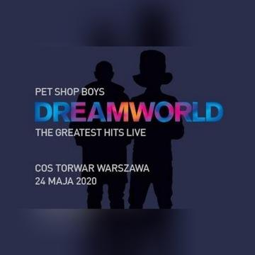 2 bilety PET SHOP BOYS Warszawa Torwar 24.05